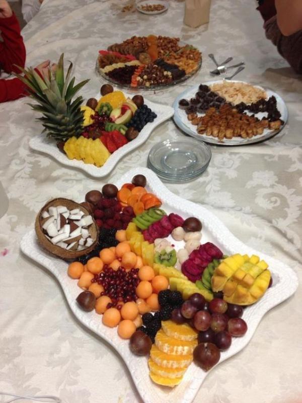 Tou Bichvat des fruits frais et séchés