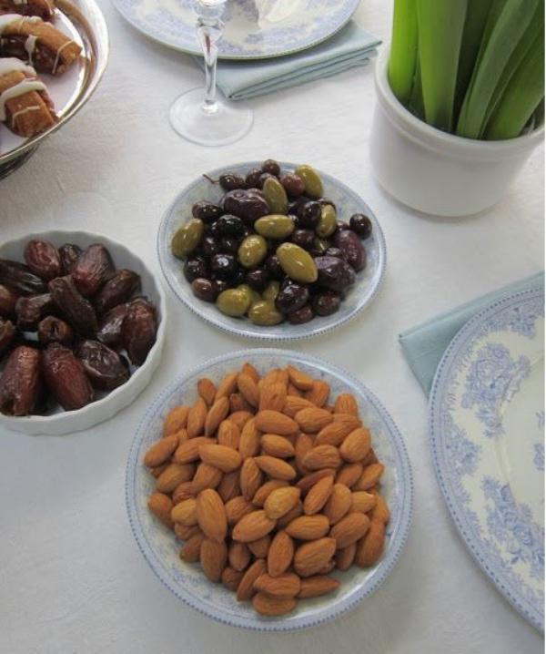 Tou Bichvat olives et amandes