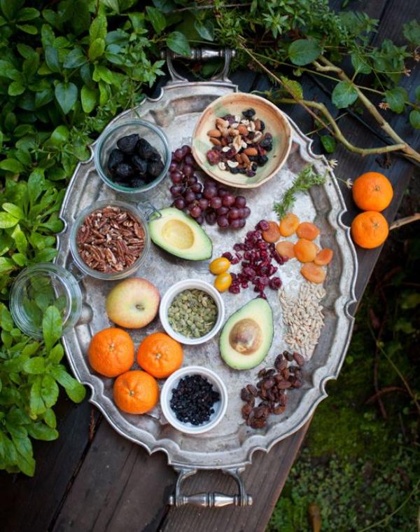 Tou Bichvat toutes sortes de fruits