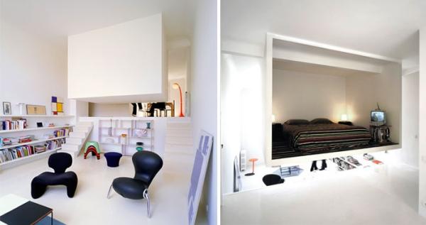 aménagement studio 30m2 expérience esthétique