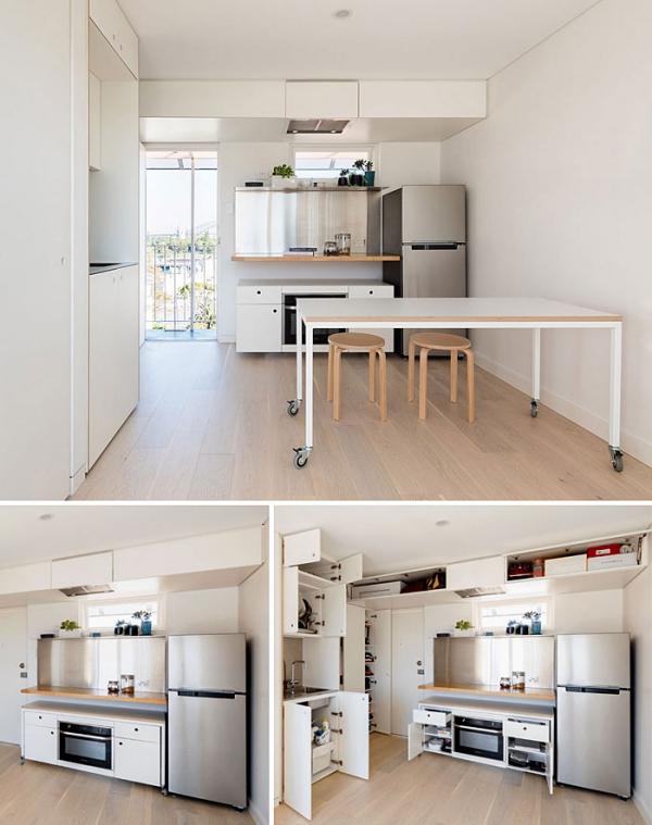 aménagement studio 30m2 méthode japonaise 5S