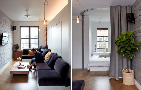 aménagement studio 30m2 micro-appartement