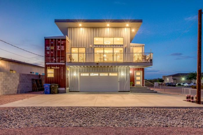 belle maison idée container habitable idée pour vous inspirer