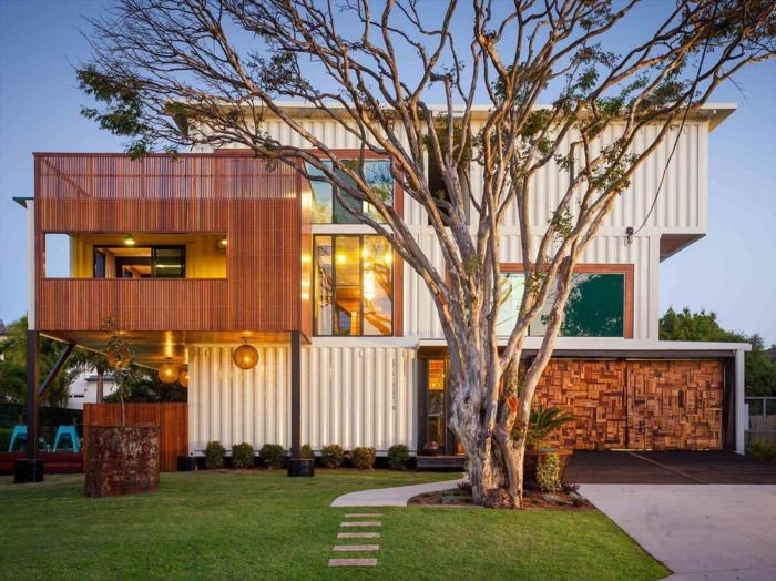belle maison idée container habitable