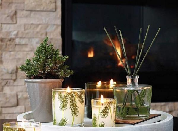 cadeau grand-mère des bougies arômatisées