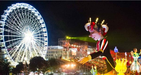 carnaval de mardi gras au carnaval de Nice