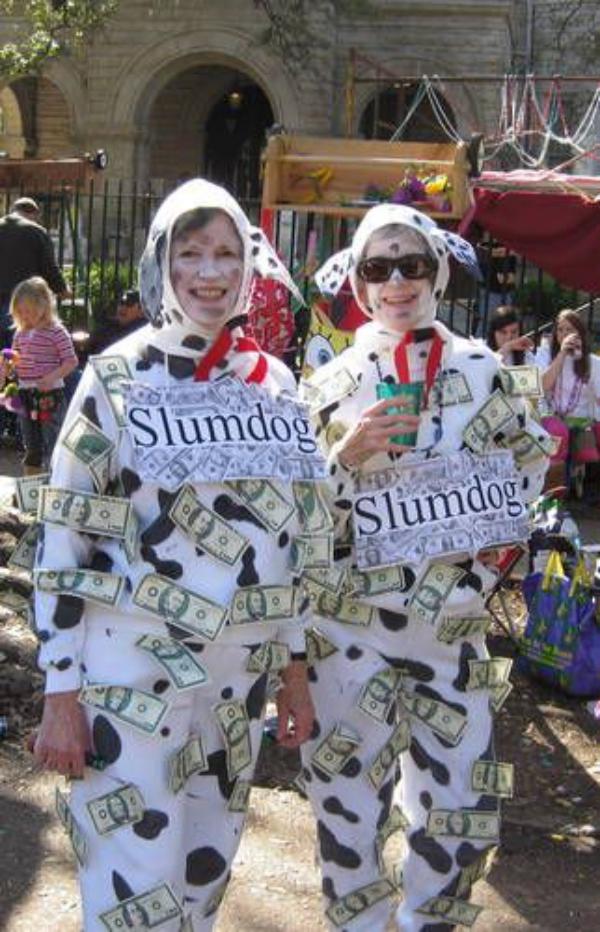 carnaval de mardi gras costumes de chien