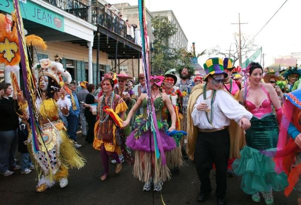 carnaval de mardi gras féerie de couleurs