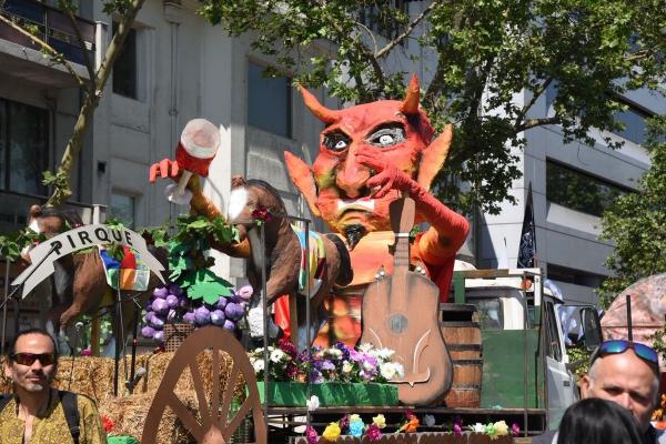 carnaval de mardi gras figure du diable