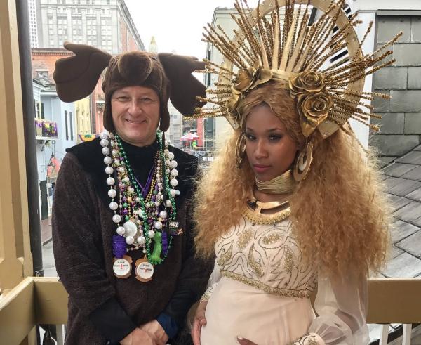carnaval de mardi gras la reine des neiges