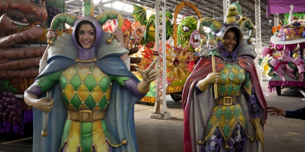carnaval de mardi gras photos amusants
