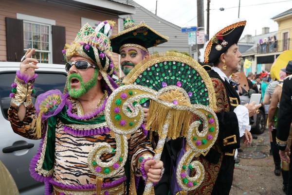 carnaval de mardi gras pirates et le dieu des océans