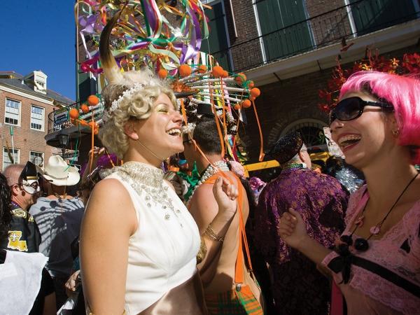 carnaval de mardi gras soleil et sourires