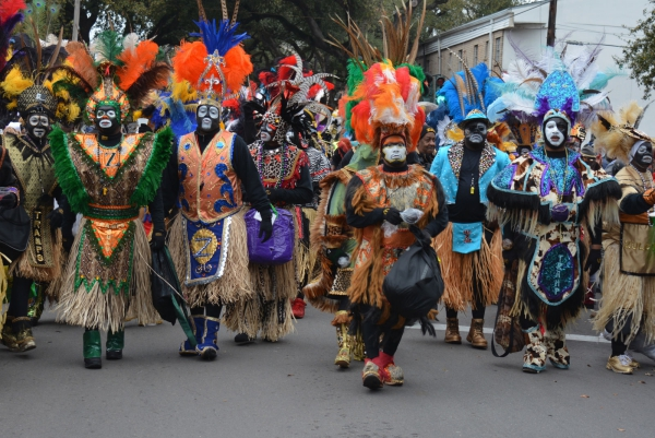 carnaval de mardi gras thème africain