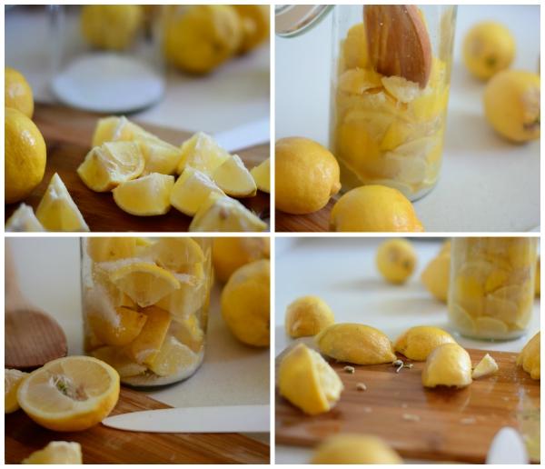 citron santé cubes de citron