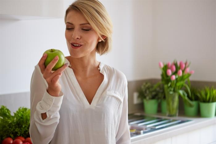 consommation pommes régime fodmap