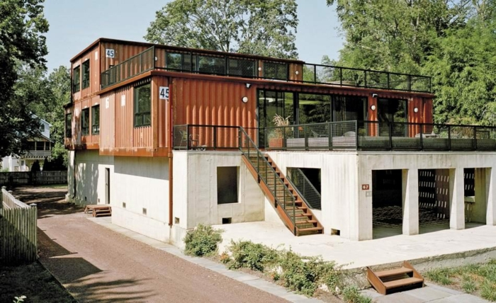 container habitable moderne et design