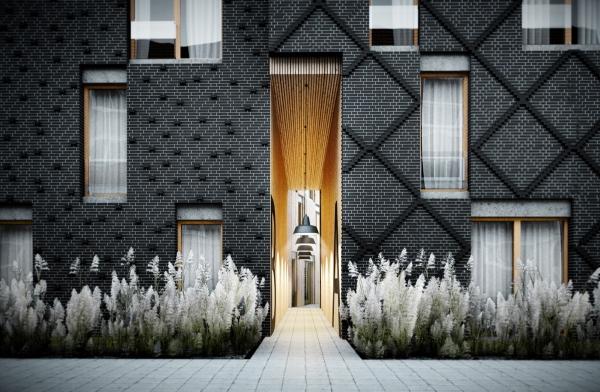 couleur façade maison tendance jardin non conventionnel