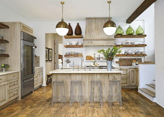 cuisine tendance 2019 bois texture granuleuse