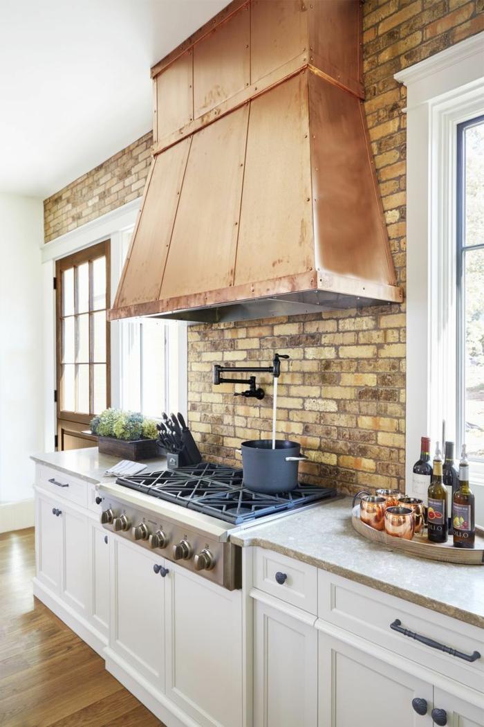 cuisine tendance 2019 hotte métallique