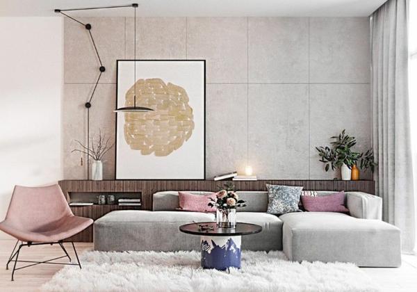 Decoration Salon Gris Et Rose – Fashionsneakers.club