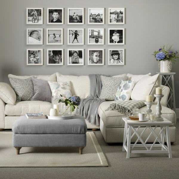 déco salon gris mobilier et accessoires en couleurs neutres