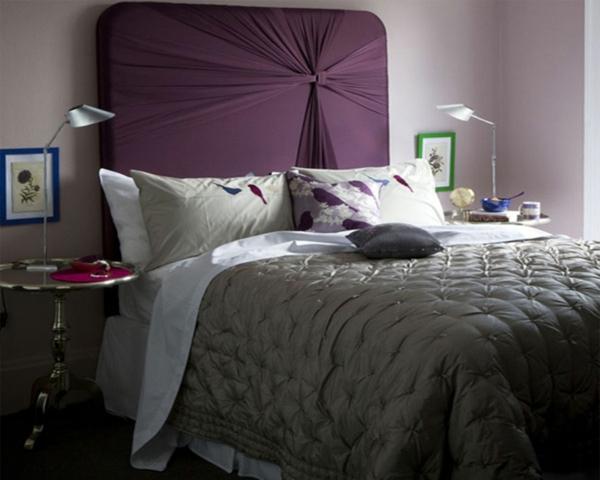 déco tête de lit artistique textile