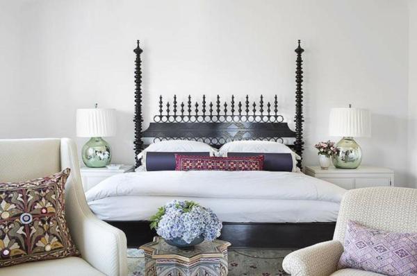 déco tête de lit bois design
