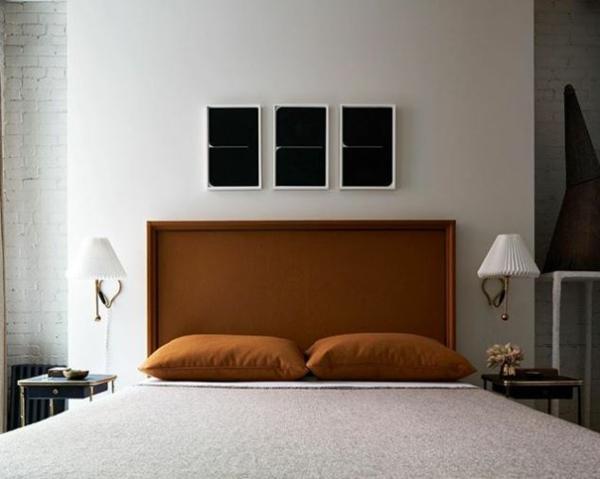 déco tête de lit design élégant