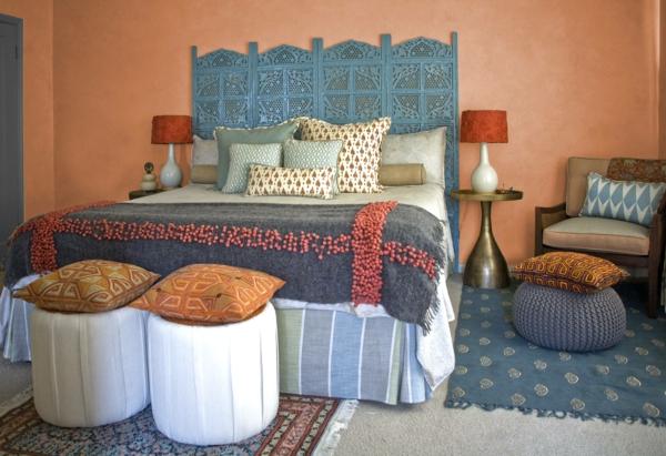 déco tête de lit marocaine bois