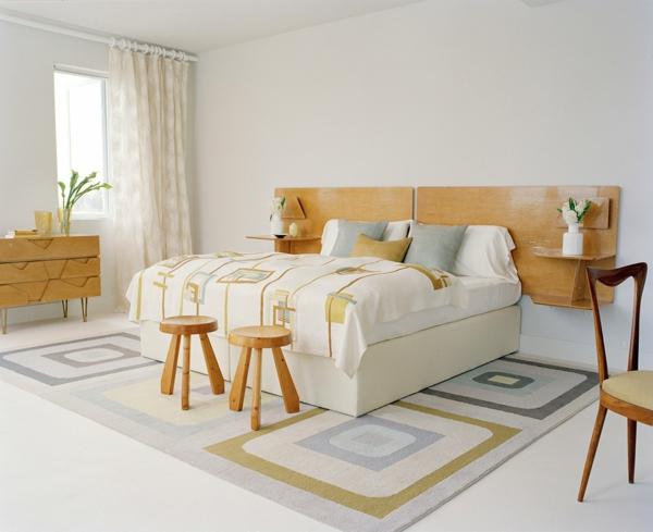 déco tête de lit panneaux de bois