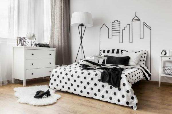 déco tête de lit stickers muraux