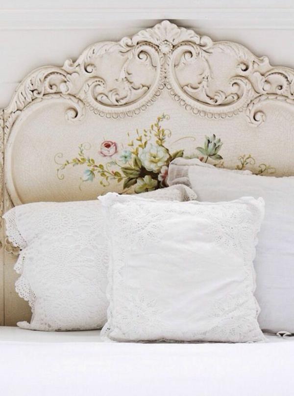 déco tête de lit style vintage Shabby Chic