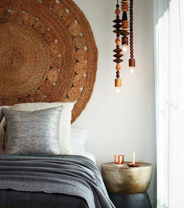déco tête de lit tapis oriental