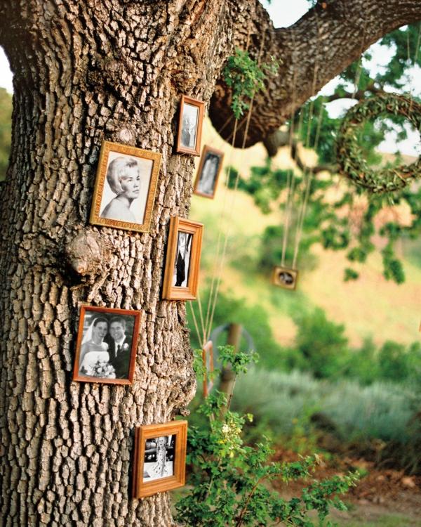 décorer son jardin avec des objets de récupération anciennes photos
