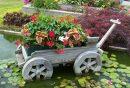 décorer son jardin avec des objets de récupération