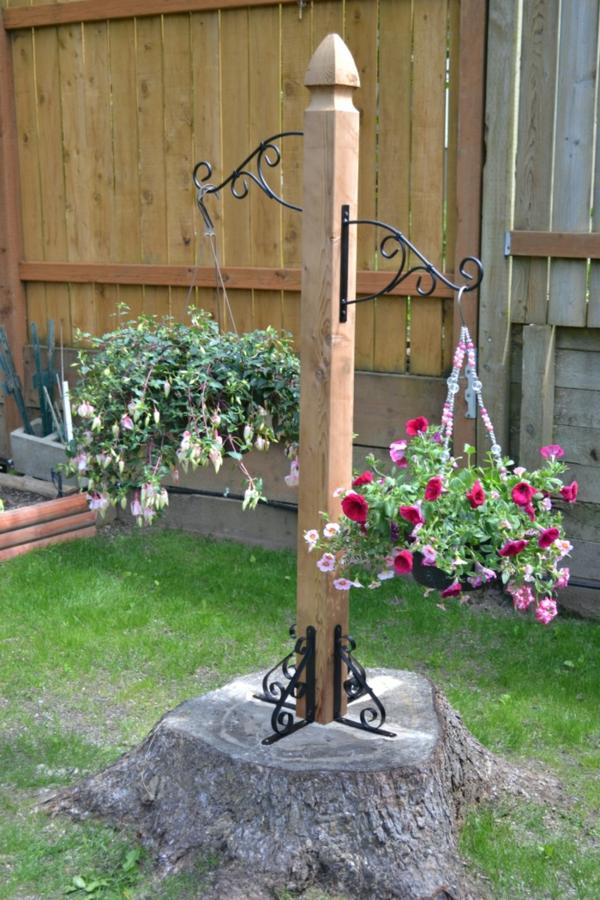 décorer son jardin avec des objets de récupération jardinière