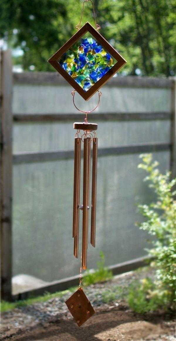 diy carillon éolien bâtonnets en cuivre