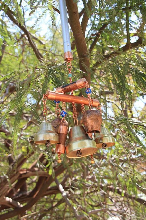 diy carillon éolien cloches en laiton