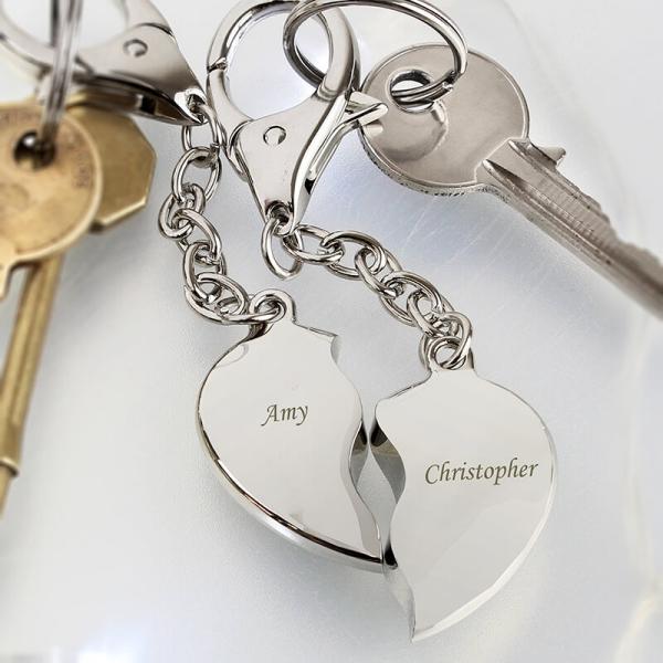 fête Saint-Valentin des porte-clés personnalisés