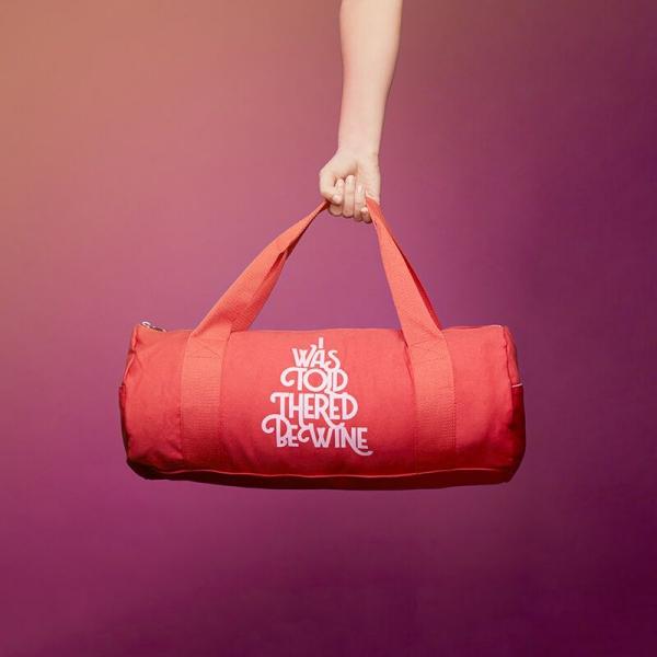 fête Saint-Valentin un sac rouge