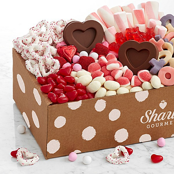 idée cadeau saint valentin fait main boîte de friandises