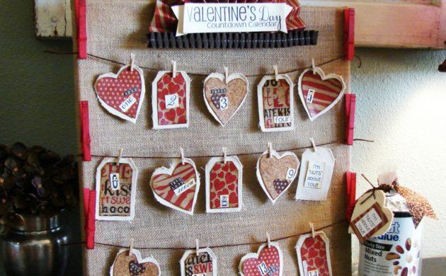 cadeau saint valentin fait main