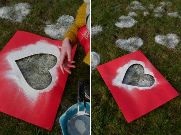 idée cadeau saint valentin fait main coeurs en farine