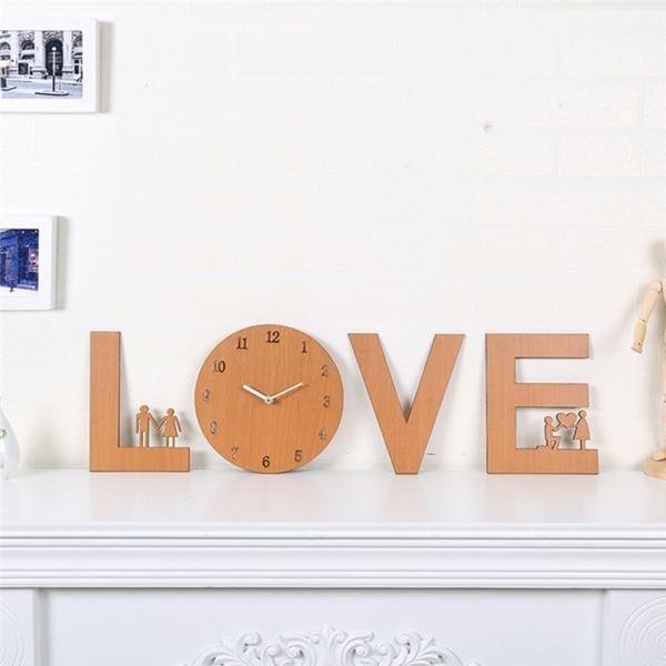 idée cadeau saint valentin fait main lettres en bois diy
