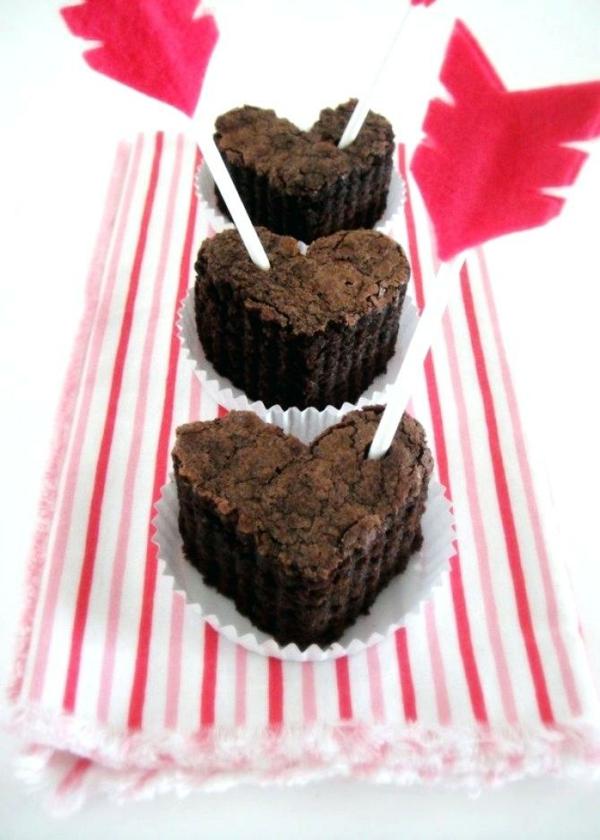 idée cadeau saint valentin fait main muffins en forme de coeur