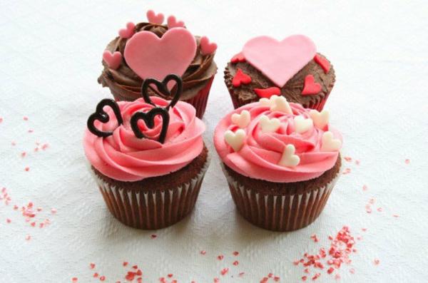 idée cadeau saint valentin fait main muffins glaçés