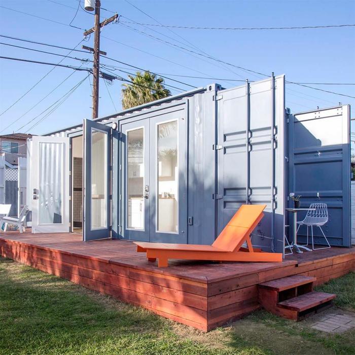 idée comment aménager un container habitable