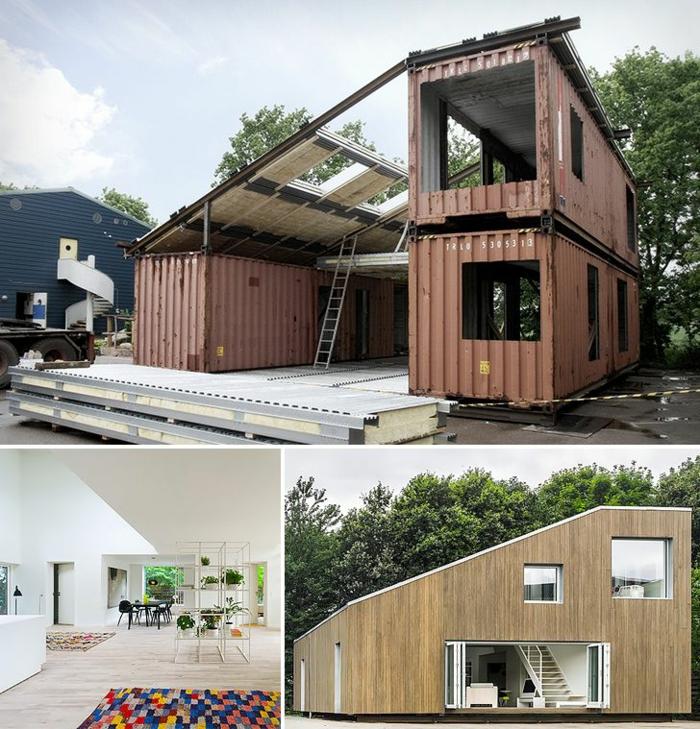 idée inspirante container habitable