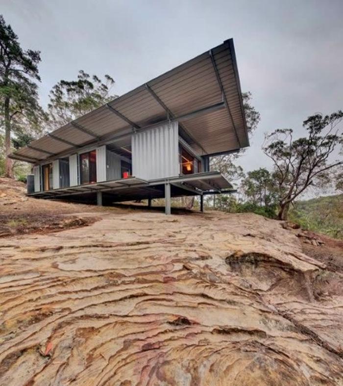 idée maison container habitable